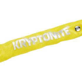 Kryptonite Keeper 465 Kettingslot, yellow